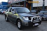 2010 NISSAN NAVARA ST-X 4X4 D40 DUAL CAB PUP