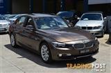 2013 BMW 320D MODERN LINE F30 MY14 4D SEDAN
