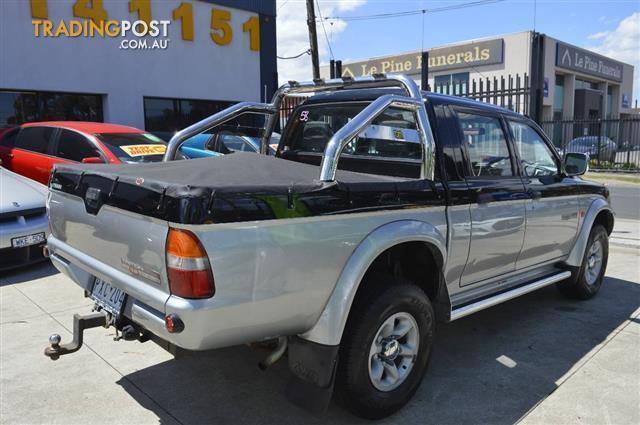 1999 Mitsubishi Triton Gls 4x4 Mk Double Cab Utility For