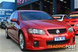 2010 HOLDEN COMMODORE SS VE II 4D SEDAN