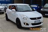 2012 SUZUKI SWIFT GL RE.1 FZ 5D HATCHBACK