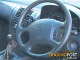 wrecking only 2004 HYUNDAI TERRACAN 4WD WAGON all parts available