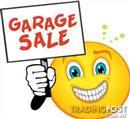 GARAGE SALE - EAST MALVERN - ALL MONEY DONATED TO MSA BRAIN RESEARCH