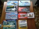 Model kit collection x9