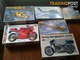 Model kit collection x6