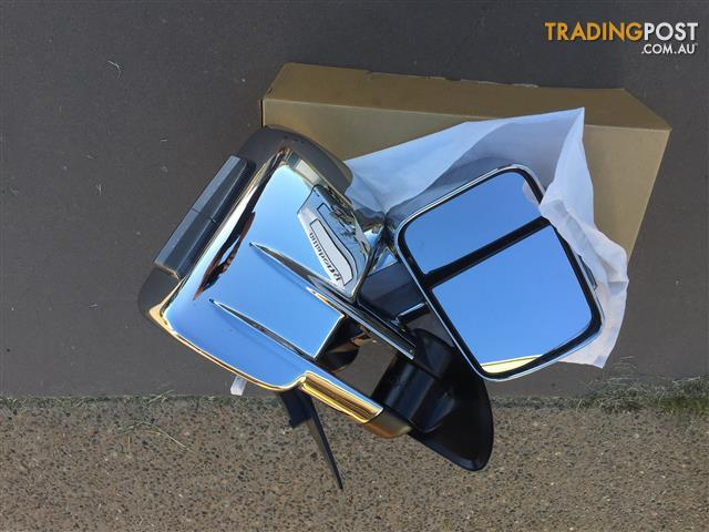 Chrome Electricly opperated Clearvue Mirrors