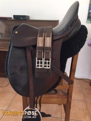 """Bates All-Purpose saddle - 15"""""""
