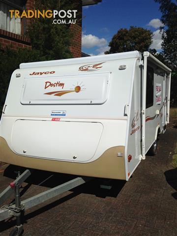 16ft Jayco Destiny Bunk Pop Top Van.