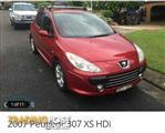 2007 PEUGEOT 307 XS HDi 1.6 MY06 UPGRADE 5D HATCHBACK