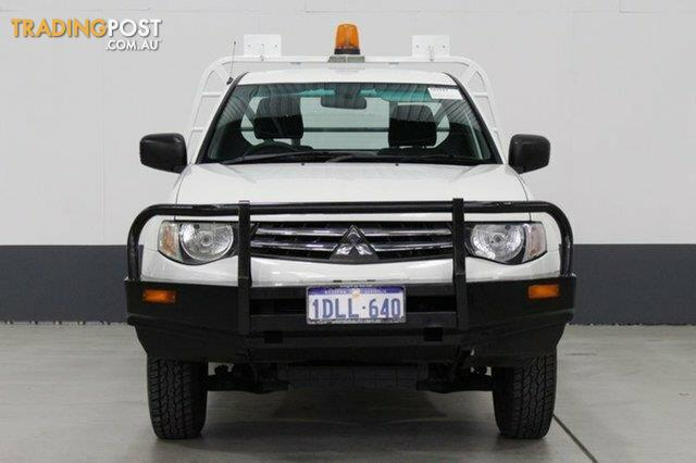 2010 Mitsubishi Triton GL MN MY11 Cab Chassis