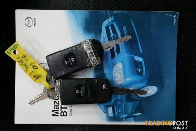 2010 Mazda BT-50 Boss B3000 DX (4x4) 09 Upgrade Dual Cab Pick-up