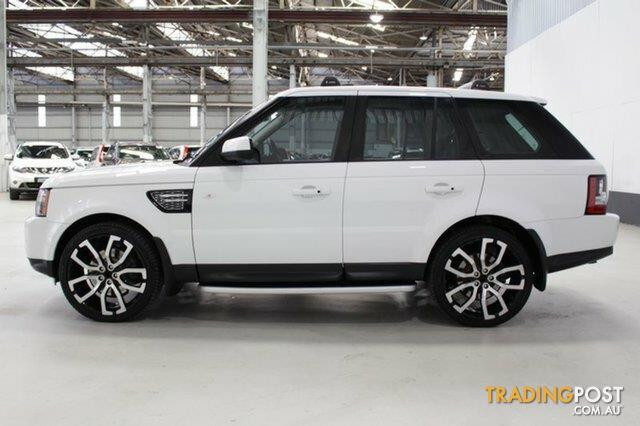 2012 Land Rover Range Rover Sport 3.0 SDV6 Luxury MY12 Wagon