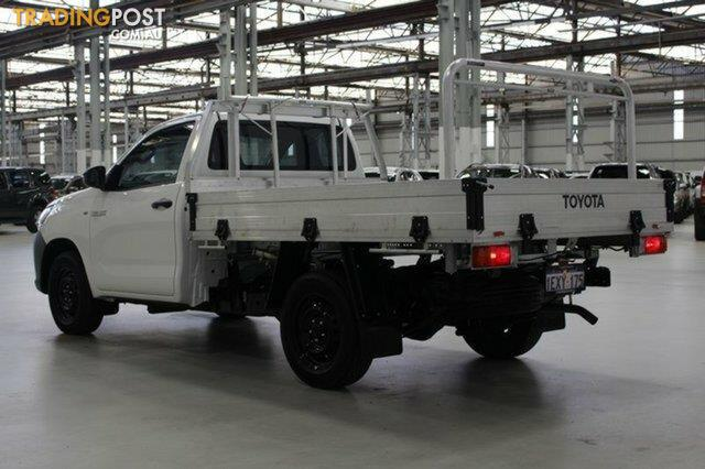 2015 Toyota Hilux Workmate TGN121R Cab Chassis