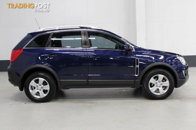 2011 Holden Captiva 5 (FWD) CG Series II Wagon