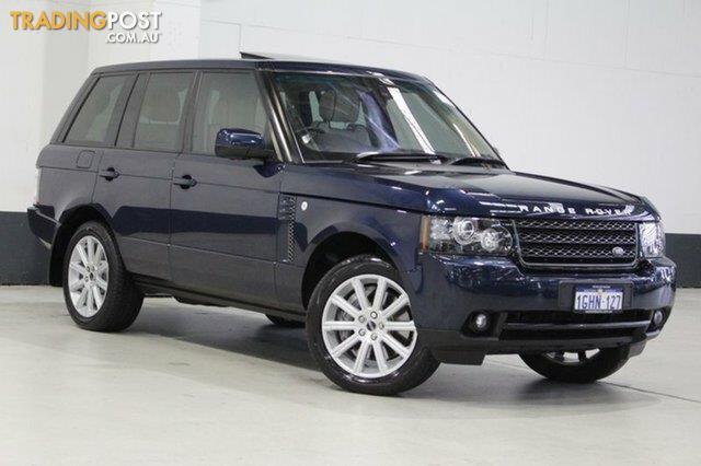 2012 land rover range rover vogue luxury tdv8 my12 wagon for sale in bentley wa 2012 land. Black Bedroom Furniture Sets. Home Design Ideas