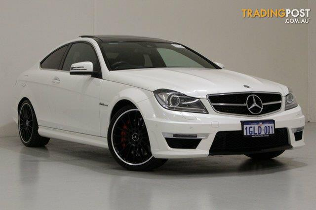 2012 mercedes benz c63 amg w204 my12 coupe for sale in bentley wa 2012 mercedes benz c63 amg. Black Bedroom Furniture Sets. Home Design Ideas