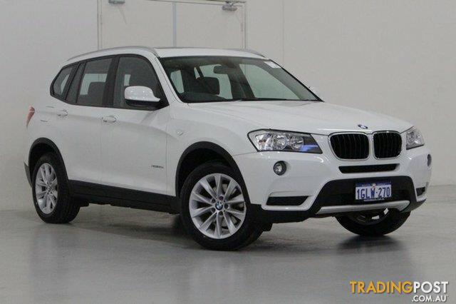 2014 BMW X3 XDrive 20D F25 MY14 Wagon