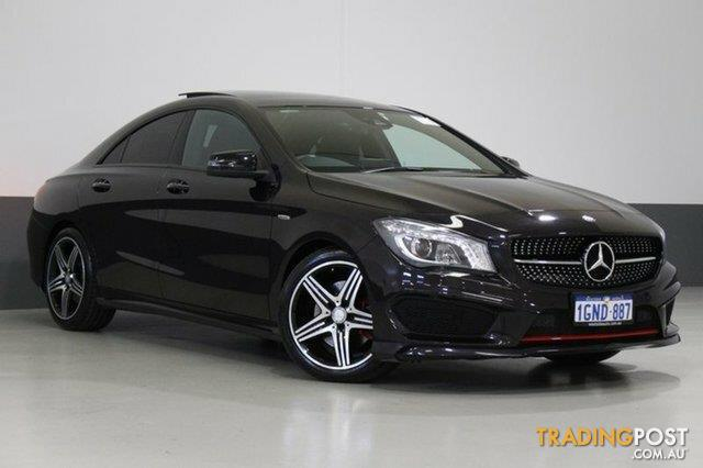 2015 mercedes benz cla 250 sport 4matic 117 my15 coupe for sale in bentley wa 2015 mercedes. Black Bedroom Furniture Sets. Home Design Ideas