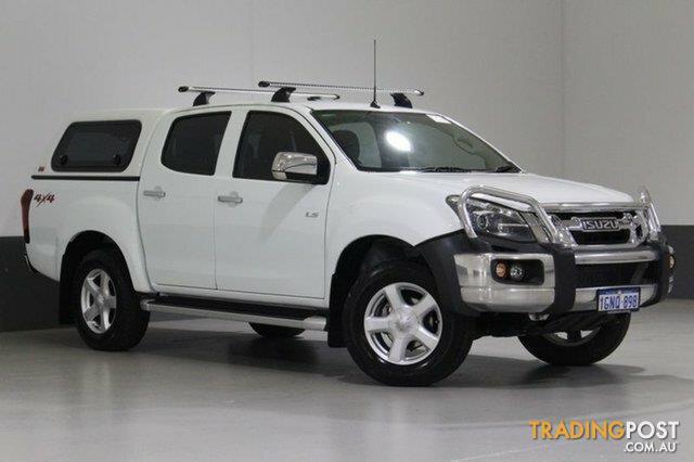2015 Isuzu D Max Ls U Hi Ride 4x4 Tf My15 Crew Cab Utility For
