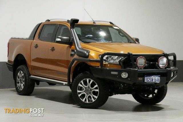 2016 Ford Ranger >> 2016 Ford Ranger Wildtrak 3 2 4x4 Px Mkii Dual Cab Pick Up