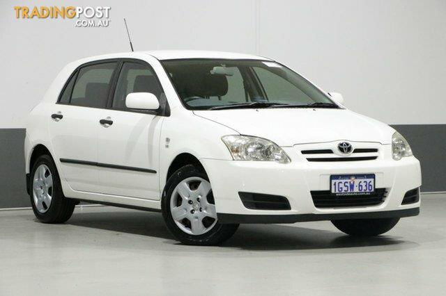 2007 toyota corolla ascent specifications