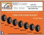 Mobile Tyre Service starting from $35