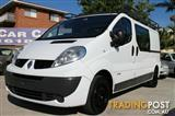 2012 Renault Trafic Low Roof LWB Quickshift X83 Phase 3 Van