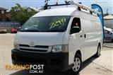 2005 Toyota Hiace High Roof Super LWB TRH221R Van