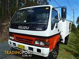 Isuzu NPS 4WD Truck