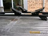 BMW X5 Roof bars and cargo barrier