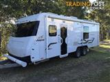 2015 Jayco Silverline 24ft with front club lounge and bed slide-out