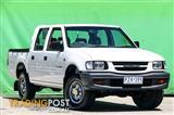 1999 HOLDEN RODEO LX TFR9 CREW CAB PUP