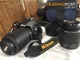 Nikon D40X DSLR Camera with Twin Lenses