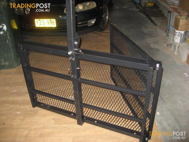 Lawn Tractor Cargo Rack : Scooter rack for hayman r tow bar sale in kingsgrove