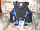 Back protector jumping vest