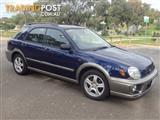 2002 SUBARU IMPREZA RV (AWD) MY02 5D HATCHBACK