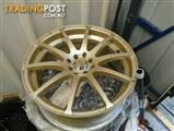 tyres 18 inch  3 tyres 4 wheels
