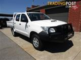 2012 TOYOTA HILUX WORKMATE (4x4) KUN26R MY12 C/CHAS