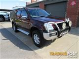 2004 HOLDEN RODEO LT (4x4) RA CREW CAB P/UP