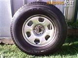BRAND NEW CONTINENTAL CONTITRAC 25575R15 TYRE suit toyota,nissan,ford,holden