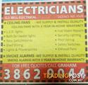 Wanted: Electrician 40+ year's experience