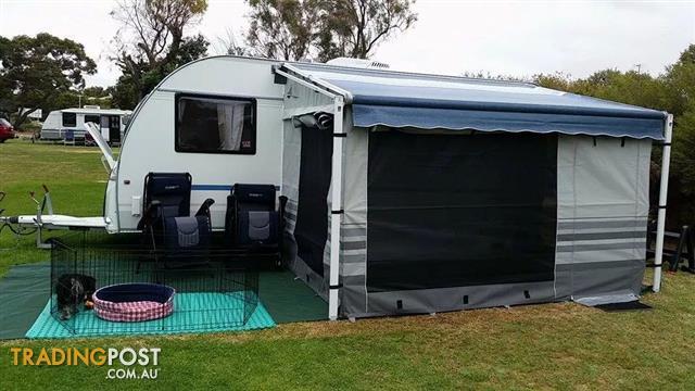 2012 Adria Altea 542 PK. Family caravan with bunks