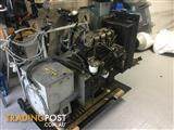 Perkins 80hp diesel generator