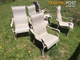 6 outdoor chairs