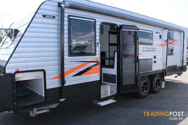 2017 Leader Caravans Bunk Caravan With Ensuite