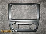 Skoda Yeti interior dashboard panel for climatronic/navigation