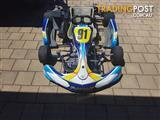 X1 arrow kart rotax 125cc