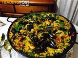PAELLA COOKED AT YOUR HOME