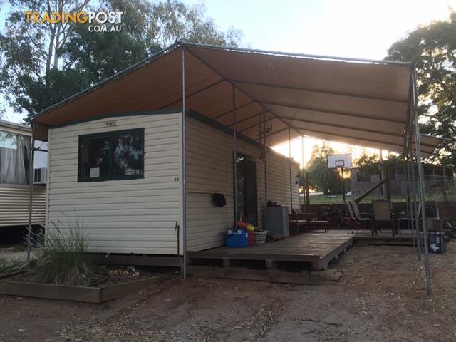Cabin onsite at Corowa for sale in Corowa NSW | Cabin onsite at Corowa