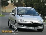 2005 Peugeot 206 XR T1 MY04 Hatchback